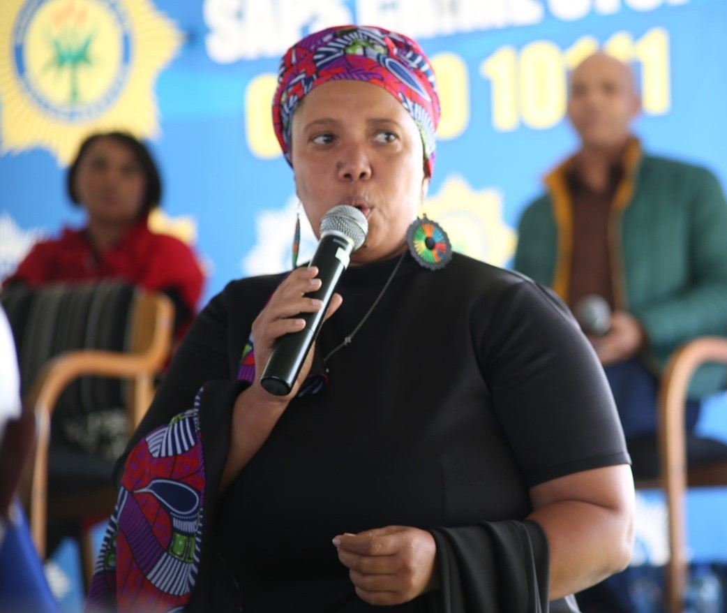 CPF cluster chairperson, Ms Lucinda Evans, spoke extensively on the vigilance by community members to expose gang-related activity