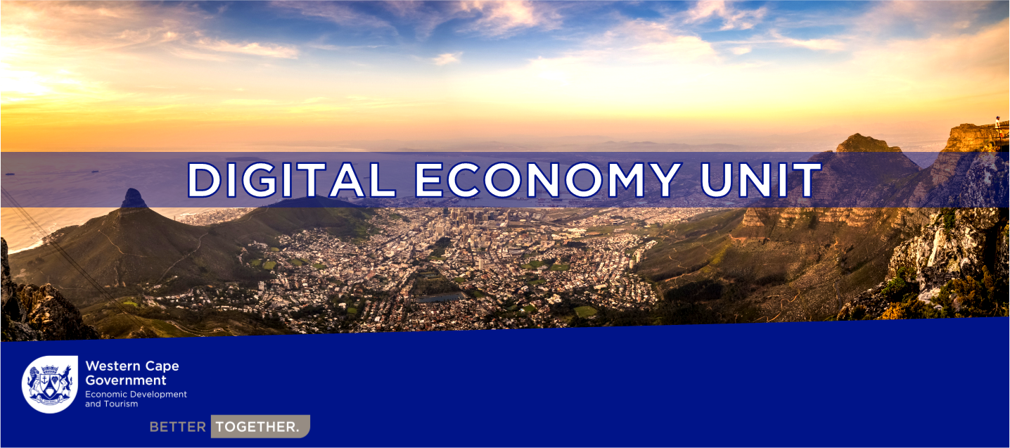 Picture stating Digital Economy Unit