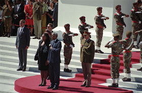 Mandela-at-the-opening-of-parliament