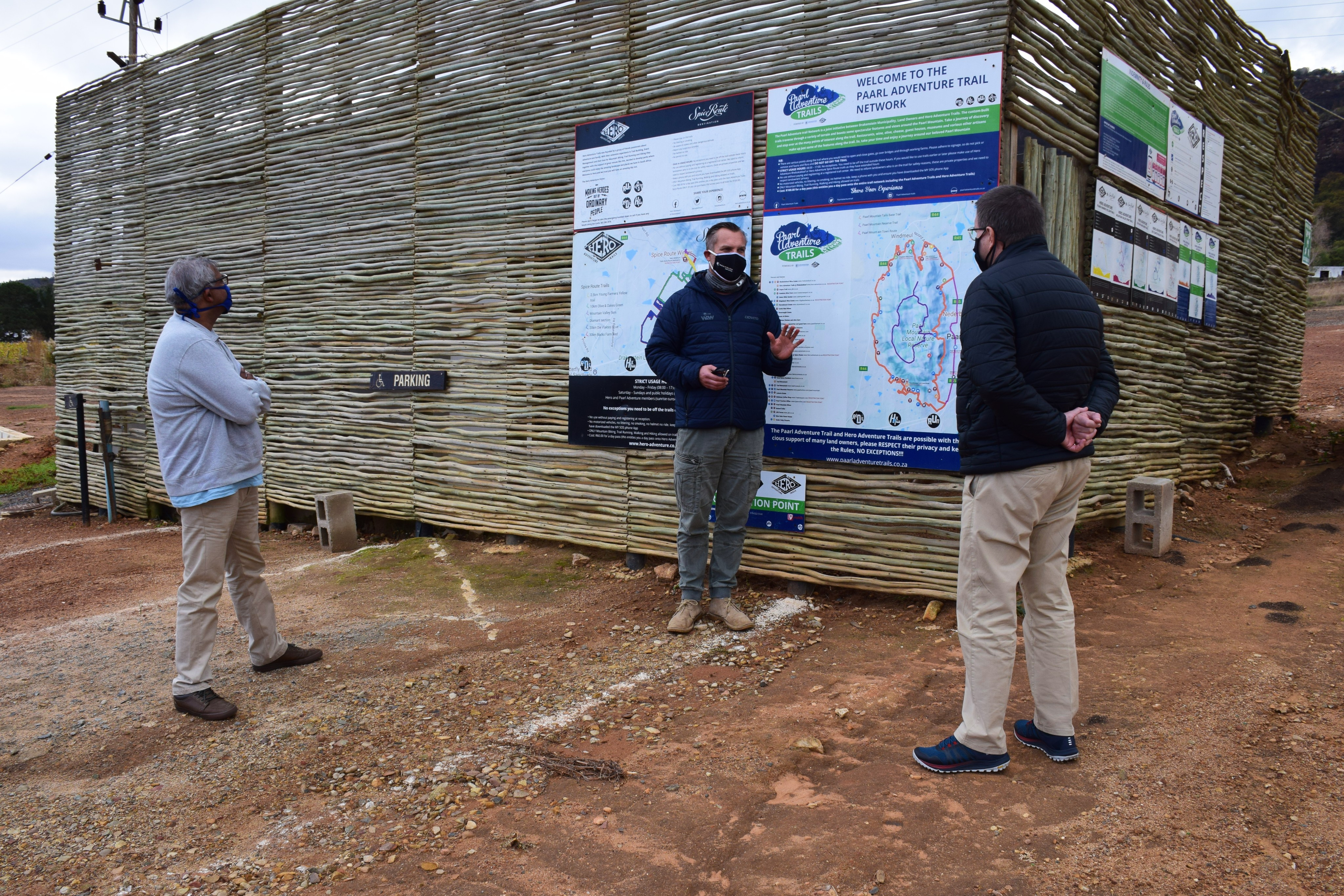 Minister Maynier visits Paarl Adventure Trails