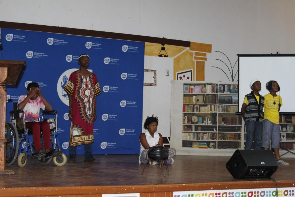MOD Centre learners told stories through poetry