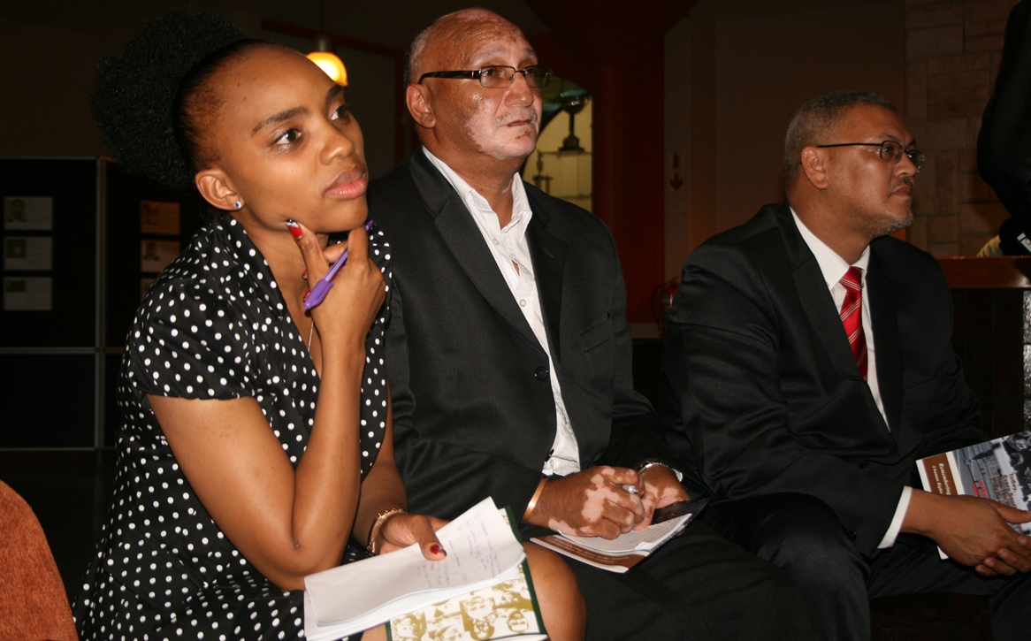 Ms Noziphiwe (SRSA), Mr Bennett Bailey and Adv. Lyndon Bouah (DCAS) responded to questions at the network session.