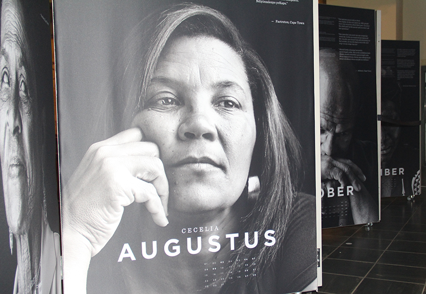 'My name is February' will be displayed at affiliated museums around the Western Cape province