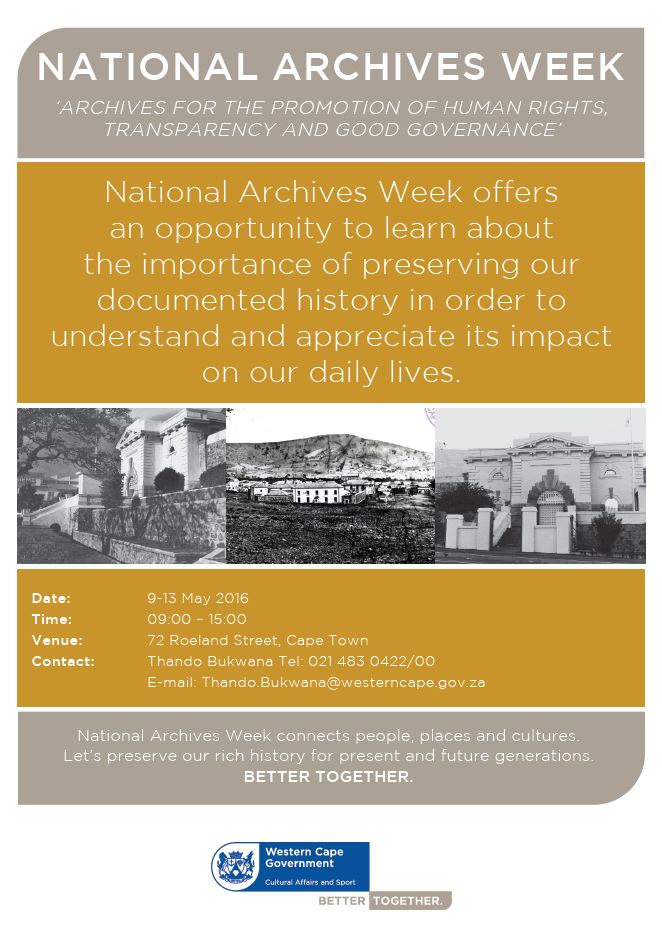 National Archives Week 2016_English poster