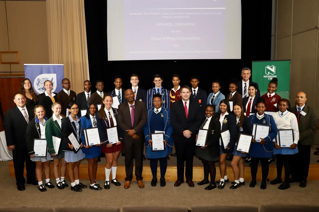 All the finalists of the Essay Writing Competition