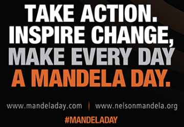 Nelson Mandela Day call to action