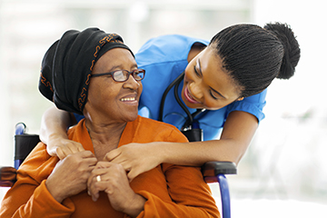 Mom and nurse