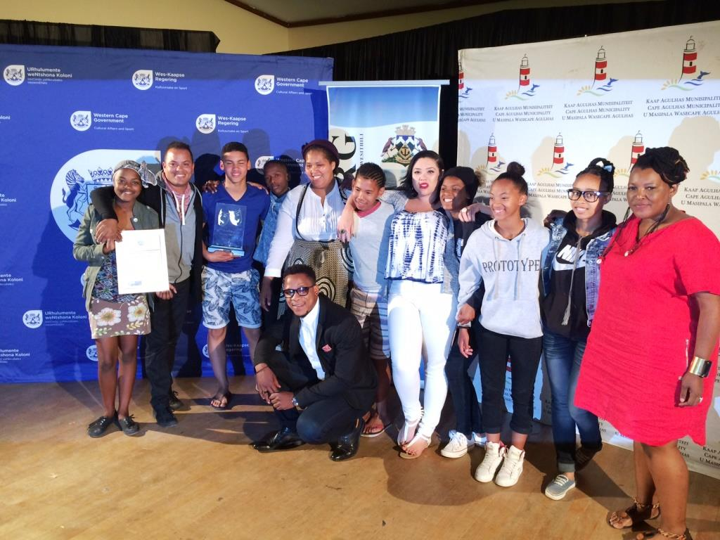 Overall winners of the best production, Most Wanted, from Swellendam