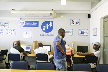 Cape Access e-Centre at Thusong Centres.
