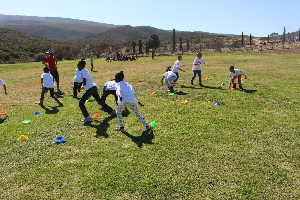 Participants taking part in the fun-filled activities