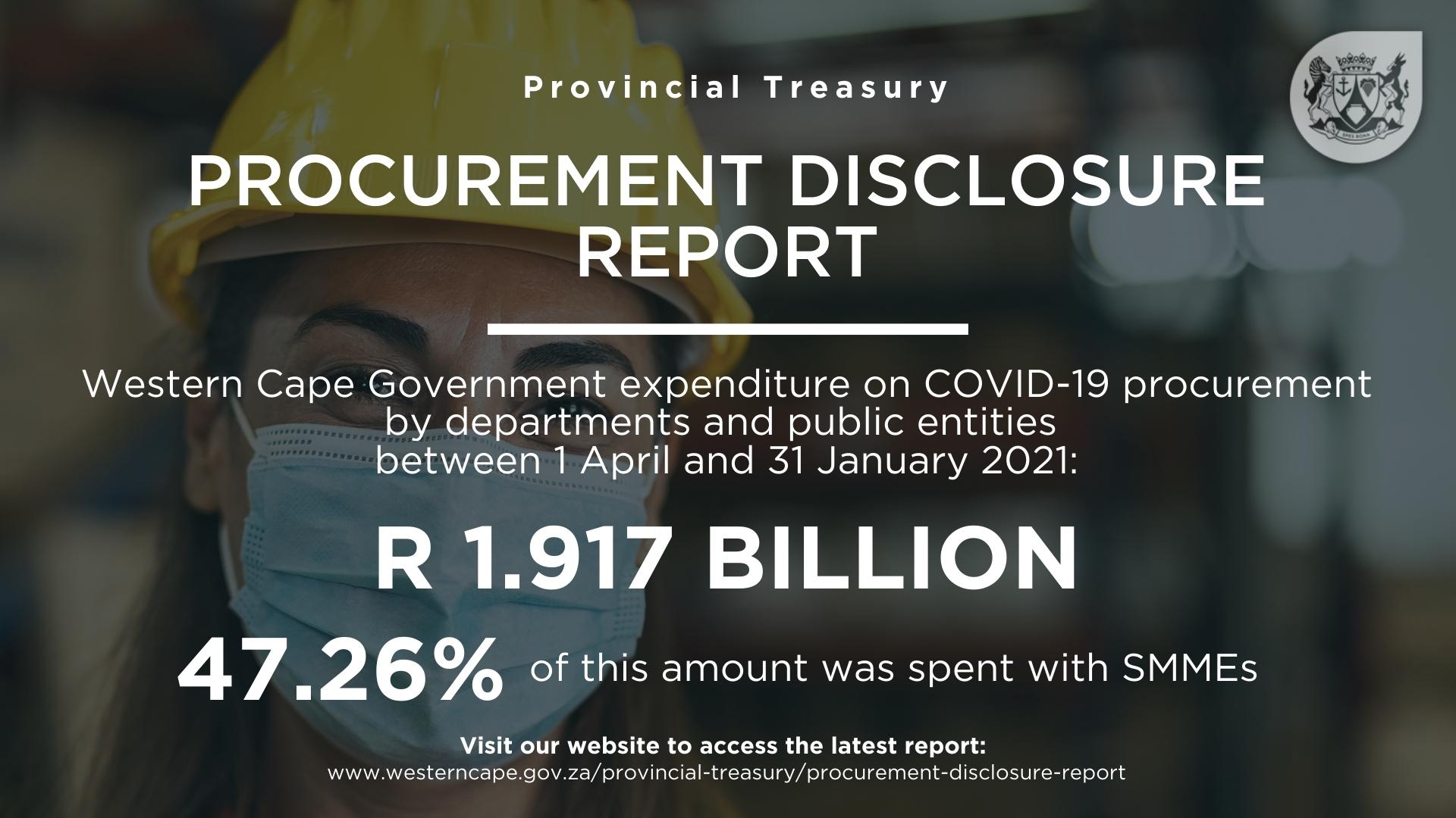 Procurement Disclosure Report January 2021