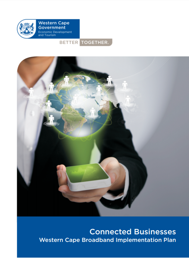 A picture of the Connected Government -Western Cape Broadband Implementation Plan Document