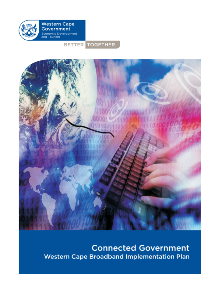 Picture of the Connected Government -Western Cape Broadband Implementation Plan Document