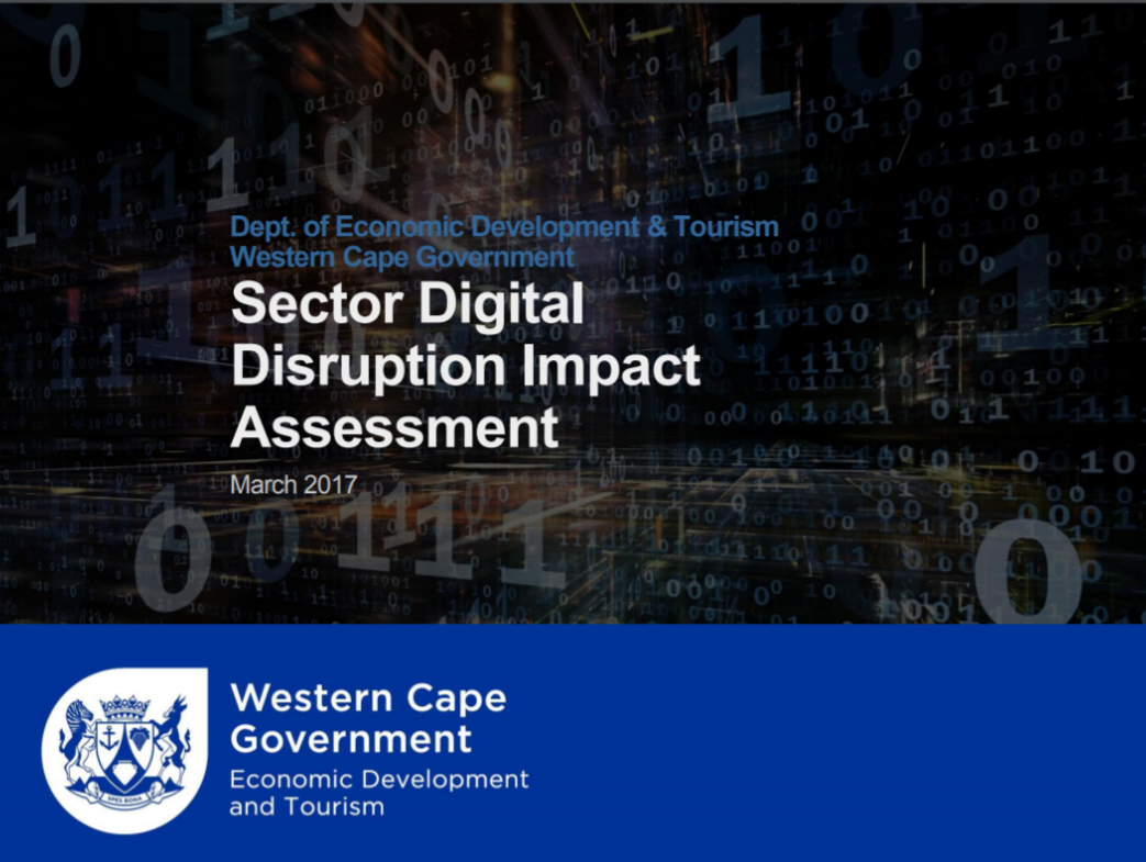 Picture of the Western Cape Sector Digital Disruption Impact Assessment Document