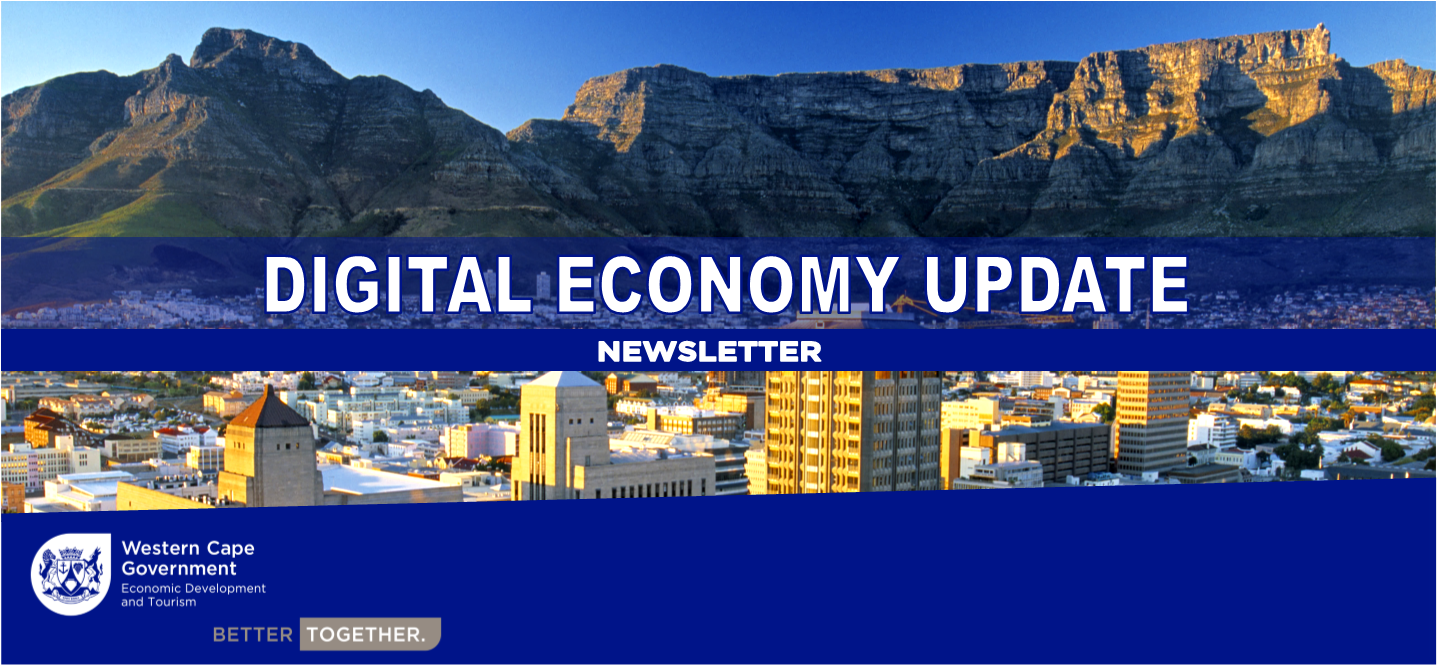 Picture stating Digital Economy Update