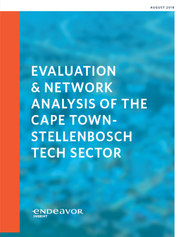 Network Analysis of Cape Town Report