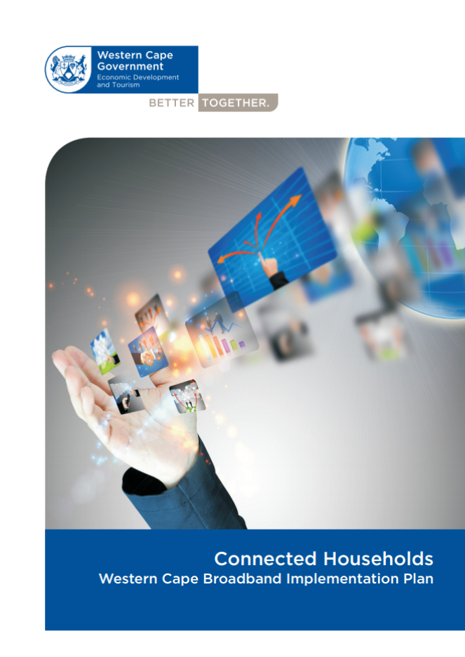 Pciture of the Connected Communities - Western Cape Broadband Implementation Plan Document