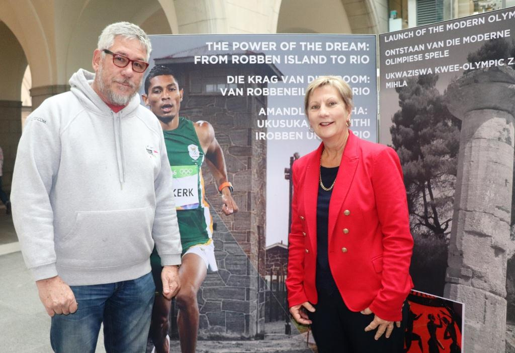 Professor Andre Odendal, a sport historian, contributed greatly to the compilation of information for the exhibition.