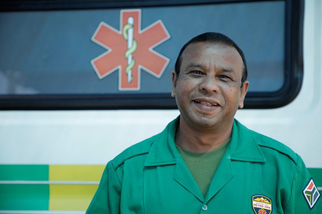 Rajendra Laljith - EMS Paramedic, Western Cape Government Health