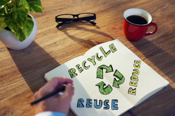 Recycle. Reuse. Reduce.