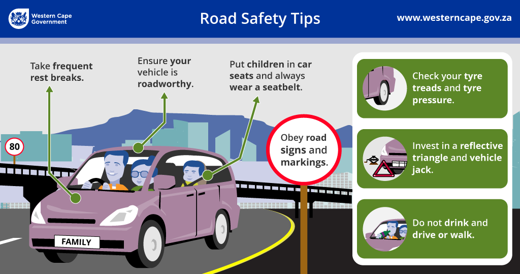 Road Safety Infographic