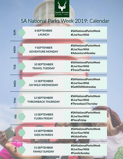 Small Parks Week calendar