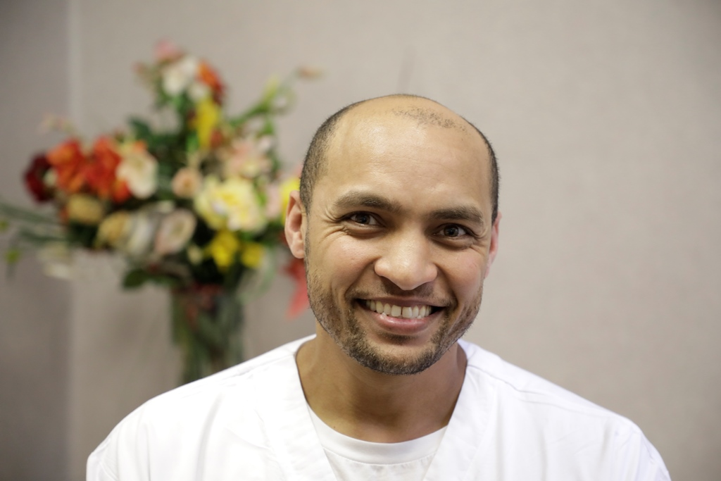 PN Sadick Swarts, Operational Manager – Speciality ICU, Groote Schuur Hospital