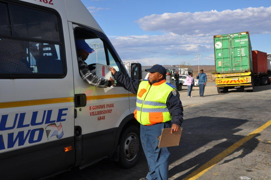 Provincial Traffic Services has been transferred to the Department of Transport and Public Works.