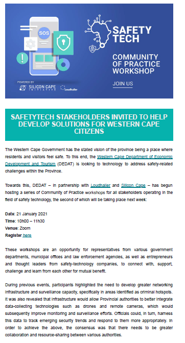 SafetyTech_CoP_Jan 2021