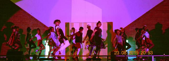 Saldanha Dancers perform 'Street Dance' with choreographers and dance teachers, Mary Jane Jaars and Curlow Louw.