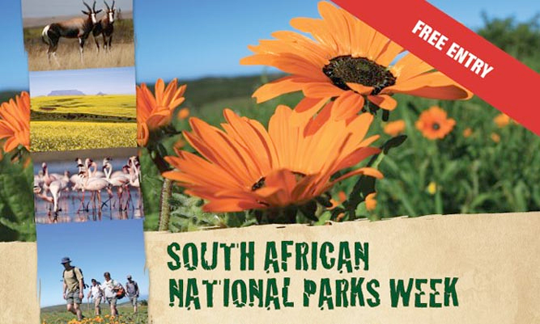 SANParks Week 2014 Free of Charge