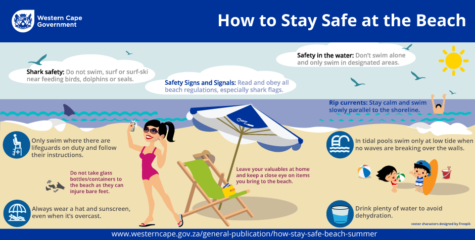 Stay safe at the beach