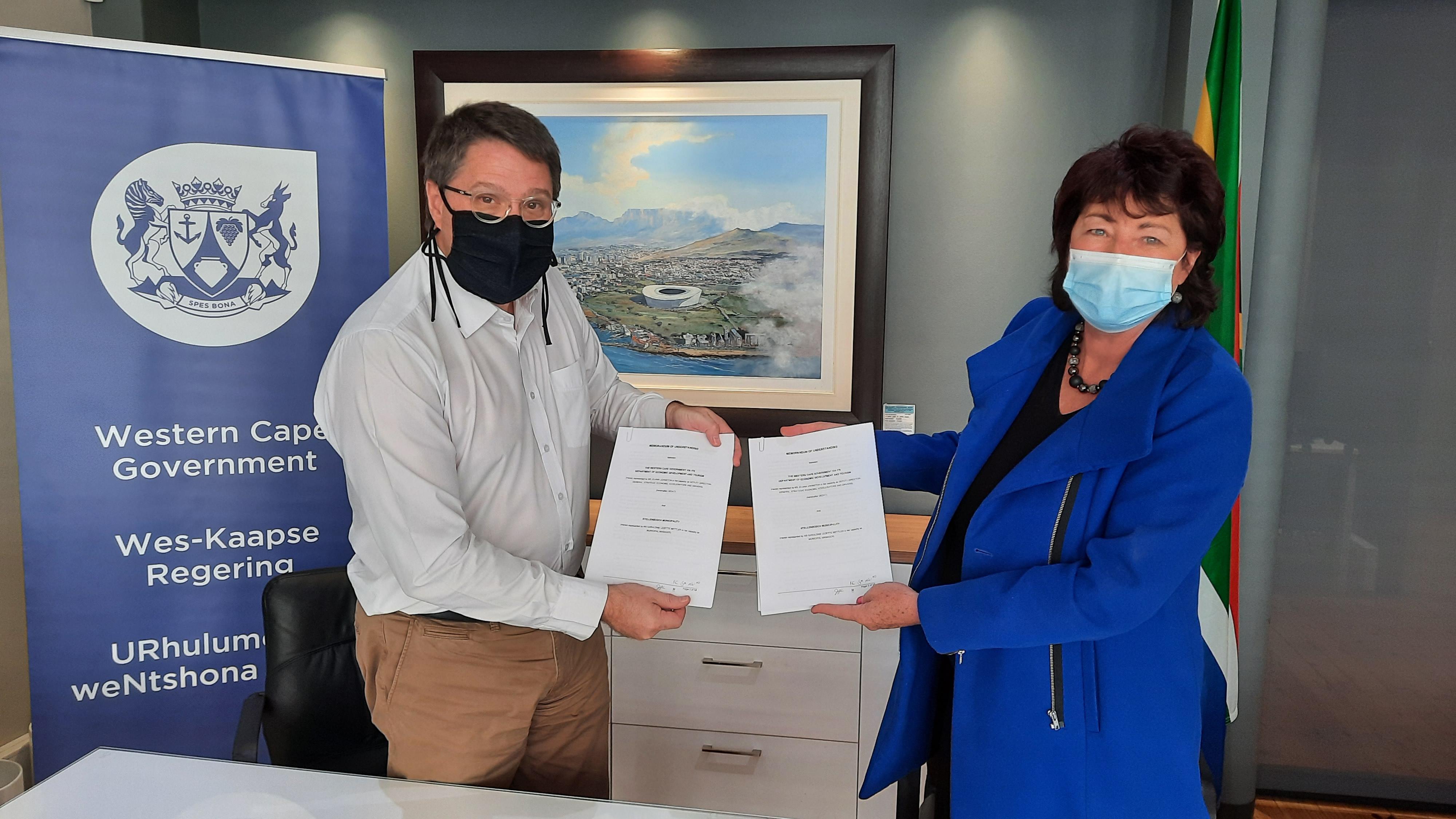 Municipal Energy Resilience Initiative and Stellenbosch Municipality