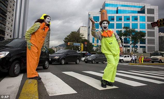 Streetiquette is inspired by a Latin America concept. In Caracas, Venezuela, for example, mimes are the most common street performers seen interacting with the public to tackle unsafe and irresponsible behaviour on urban streets.