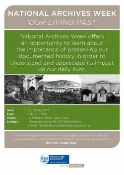 National Archives week 2015
