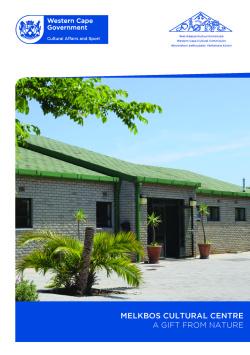 Melkbos cultural centre