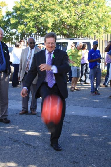 Minister Theuns Botha kicks off the campaign.