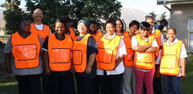 The Witzenberg Community Care Team. These Community Care Workers are all affiliated to the NGO, Witzenberg Commmunity Care