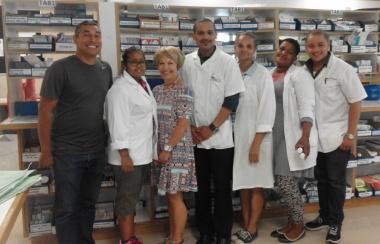 Staff at TC Newman CDC Pharmacy