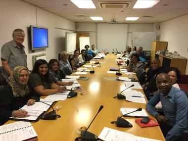 21 Organizations and Absa facilitator