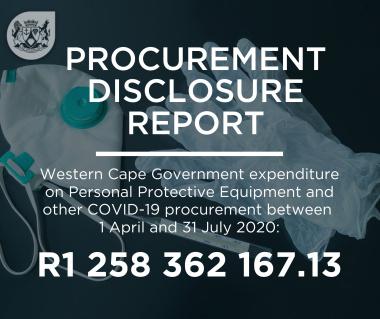 Procurement Disclosure Report 2020