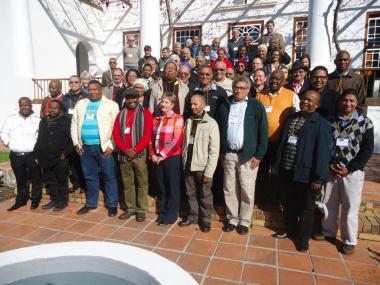 A diverse group of heritage stakeholders participated in the consultative meeting in Cape Town.