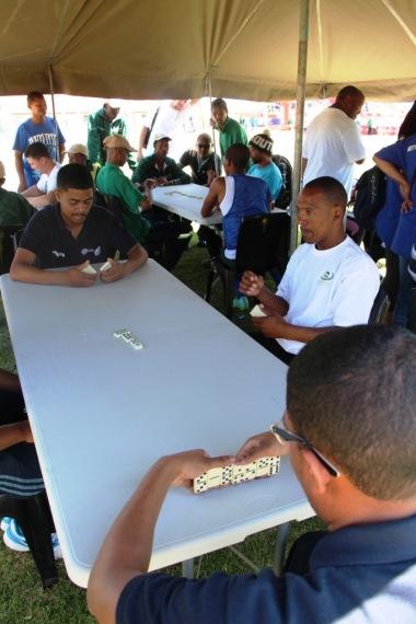 A dominoes game between Education and Saldanha Bay municipality