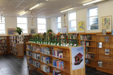 A section of the upgraded Kleinmond Library.