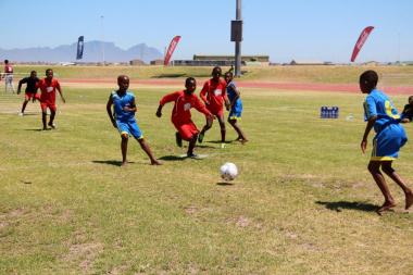 A thrilling 5-a-side match between Mfuleni Primary and Isikhokelo Primary
