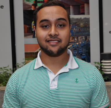 Abdul Isaacs wants to gain as much experience as possible.