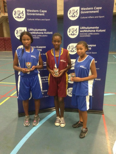 Abusisiwe Blom Sinazo Sebenza and Robencia Jansen were all included in all star teams.