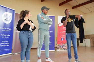 Adjudicators including celebrity judge Bongi Mantsai