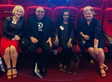 Advocate Han-Marie Marshall, Minister Fritz, Advocate Yashina Pillay and Mayor Annelie Rabie