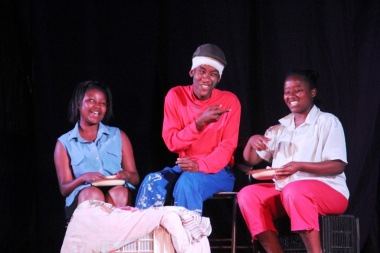 'African Calling' in action on stage